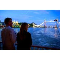 Thames Dinner Cruise with London Eye for Two
