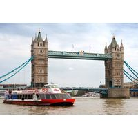 Three Course Dinner with Prosecco at the Swan at The Globe and River Cruise for Two
