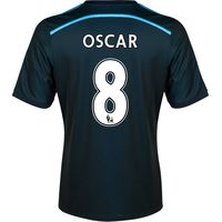 Chelsea Third Shirt 2014/15 with Oscar 8 printing