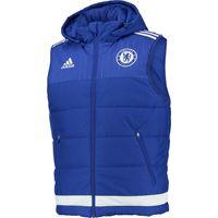 Chelsea Training Padded Vest Blue