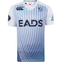 Cardiff Blues Alternate Pro Rugby Shirt 2013/15 White