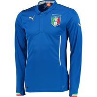 Italy Home Shirt 2014/16 - Long Sleeved