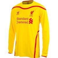 Liverpool Away Shirt 2014/15 Long Sleeve