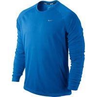 Nike Miler LS UV (Team) Blue