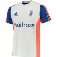 England Cricket Training T-shirt Lt Grey