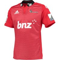 Crusaders Home Shirt - 2015 Red