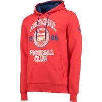 Arsenal Fan Hoody Red