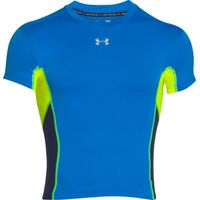 Under Armour Heatgear Armour Baselayer Top Blue