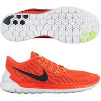 Nike Free 5.0 Trainers Orange