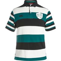 Ireland Rugby 1874 Stripe Polo Cream
