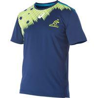 Australia Wallabies Rugby Short Sleeve Training T-Shirt Blue