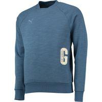 Arsenal Premium Crew Sweatshirt Blue