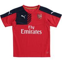 Arsenal Training Jersey - Kids Red