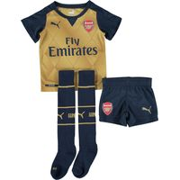Arsenal Away Mini Kit 2015/16 Gold
