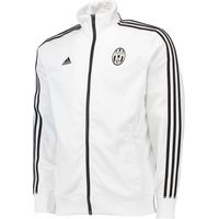 Juventus 3 Stripe Track Jacket White