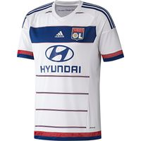 Olympique Lyon Home Shirt 2015/16 White