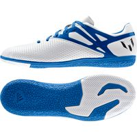 adidas Messi 15.3 Indoor Trainers White