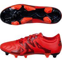 adidas X 15.3 Leather Firm Ground Football Boots - Kids Orange