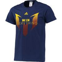 adidas Messi Winners T-Shirt Navy