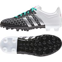 adidas Ace 15.3 Firm Ground Football Boots - Kids Black
