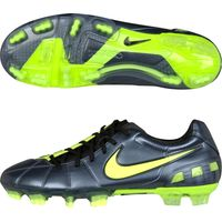 Nike T90 Laser III Firm Ground Football Boots - Metallic Blue Dusk/Volt/Black