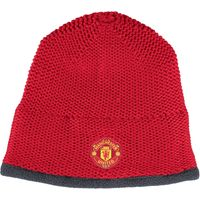 Manchester United Beanie Red