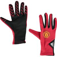 Manchester United Field Player Gloves Red