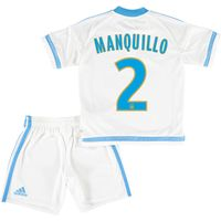 Olympique de Marseille Home Kit 2015/16 - Infants with Manquillo 2 printing