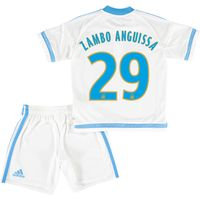 Olympique de Marseille Home Kit 2015/16 - Infants with Zambo Anguissa 29 printing