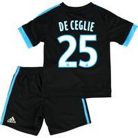 Olympique de Marseille Away Kit 2015/16 - Infants with De Ceglie 25 printing