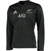 All Blacks Rugby Home Long Sleeve Shirt Black