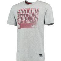England Swing Low Graphic T-Shirt Lt Grey