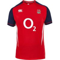 England Rugby Hybrid Training T-Shirt Red
