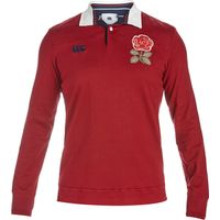 England Rugby 1871 Long Sleeve Loop Collar Rugby Jersey
