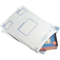Postsafe Extra-Strong Peel and Seal Polythene Envelopes Opaque - 460x430mm - 100 Pack