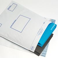 Postsafe Extra-Strong Peel and Seal Polythene Envelopes Opaque - 335x430mm - 5 Pack