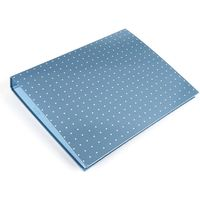 Pukka Pads A4 Metallic Ring Binder File - Blue - Pack of 1