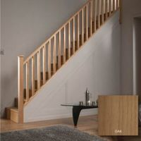 Square Oak 32mm Complete Banister Project Kit