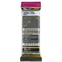 Diall AAA Alkaline Battery  Pack of 12