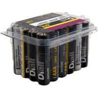 Diall AAA Alkaline Battery  Pack of 24