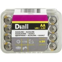 Diall AA Alkaline Battery  Pack of 24
