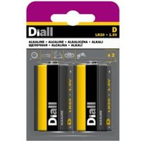 Diall D Alkaline Battery  Pack of 2