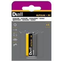 Diall PP3 Alkaline Battery