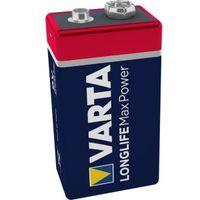 Varta Max Tech 9V Alkaline Battery