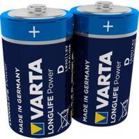 Varta High Energy D Alkaline Battery  Pack of 2