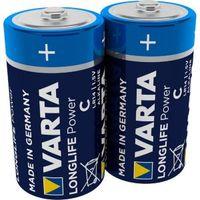 Varta High Energy C Alkaline Battery  Pack of 2
