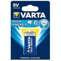 Varta High Energy 9V Alkaline Battery