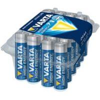 Varta High Energy AA Alkaline Battery  Pack of 24