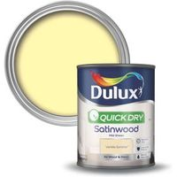 Dulux Interior Vanilla Sundae Satinwood Wood & Metal Paint 750ml