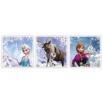 Frozen Blue & Purple Canvas Art (W)20cm (H)60cm